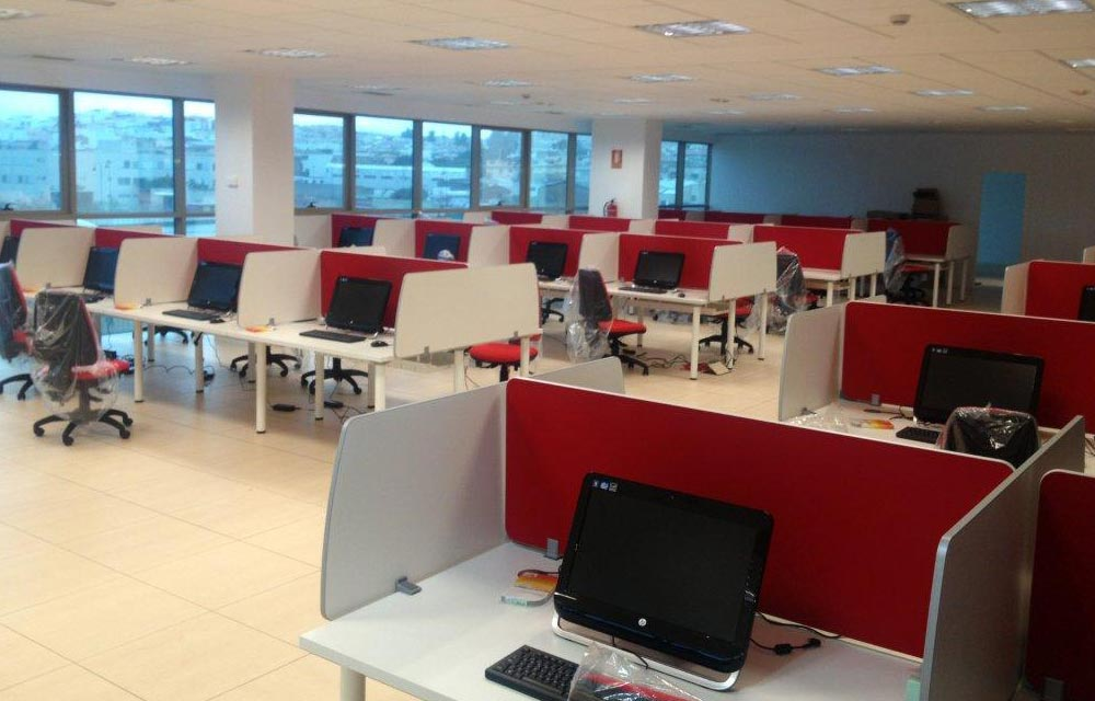muebles para call center