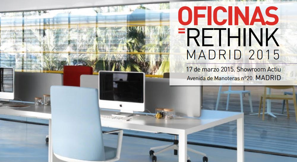 Cartel Oficinas Rethink