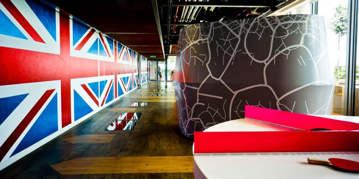 oficinas google uk